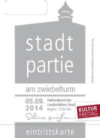 Kulturfreitag 2014